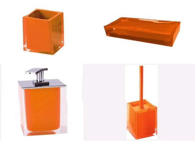 Kit rainbow accesorios ba o rodriguez y mill n for Accesorios bano naranja